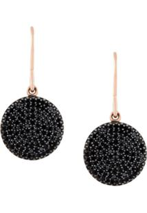 Astley Clarke Brincos De Ouro 14K Com Diamantes - Preto
