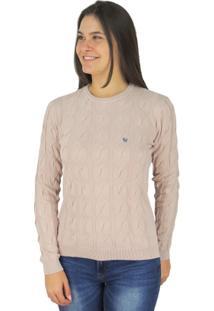 Suéter Feminino Tricô Premium Soho Golaonda - Feminino