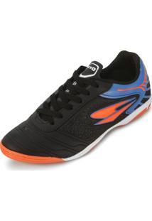 Tênis Futsal Dray Dr18-365Co Preto-Azul