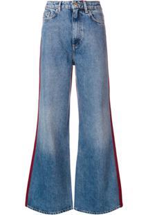 Tommy Hilfiger Calça Jeans Flare - Azul