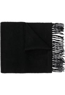 Paul Smith Cachecol De Cashmere - Preto
