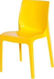 Cadeira Ice Amarelo Or Design - Amarelo - Dafiti