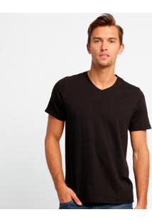 Camiseta Kohmar Básica Masculina - Masculino-Preto