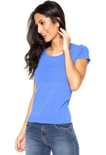 Camiseta Polo Wear Slim Azul