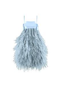 Vestido Anêmona 02 Virtual - Azul - Peça 100% Em Realidade Virtual