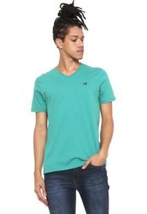 Camiseta Ellus 2Nd Floor Logo Verde