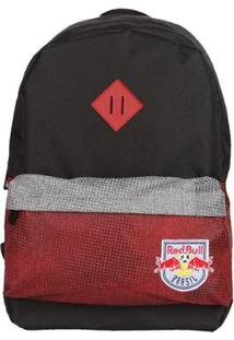 Mochila Red Bull Block Red Vermelho Preto - Unissex-Preto+Vermelho