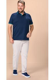 Camisa Polo Adulto Wee! - Azul - M
