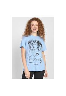Camiseta Colcci Girl Power Azul