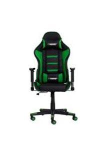 Cadeira Gamer Ii Reclinavel 180 Giratoria Preta Com Verde Altura Ajustavel Funcao Relax