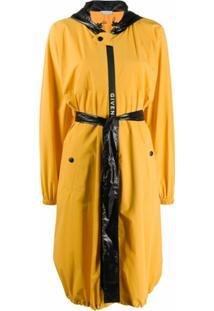 Givenchy Jaqueta Impermeável Com Capuz - Amarelo