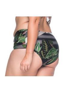 Calcinha Drape Botonical Plus Size La Playa 2019