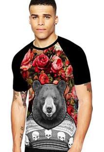 Camiseta Stompy Raglan Modelo 161 Masculina - Masculino