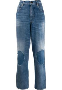 Golden Goose Knee Patch Jeans - Azul