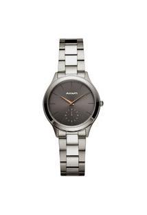 Relógio Akium Feminino Aço Cinza - 03L18Fb01E