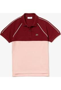 Camisa Polo Lacoste Classic Fit Feminina - Feminino