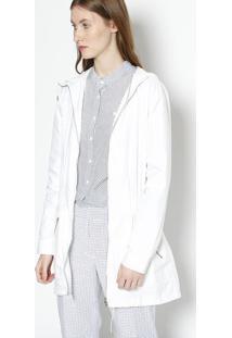 Jaqueta Com Elástico Embutido - Brancalacoste