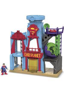 Imaginext Metrópolis Dc Super Homem Dtp30 Fisher-Price Azul
