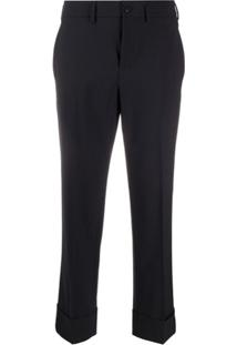Incotex Cropped Trousers - Azul