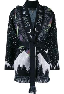 Alanui Moon Star Cardigan - Azul