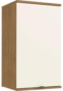 Aereo De 400Mm C/ 1 Porta Freijo/Off White De Madeira Kappesberg - Tricae