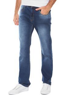 Calça Jeans Malwee Slim Azul