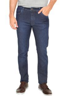 Calça Jeans Mr Kitsch Slim 9019 Bolsos Azul