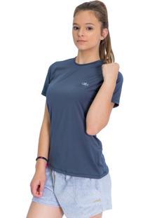 Camisa Mprotect Proteção Solar Uv Dry Manga Curta Chumbo