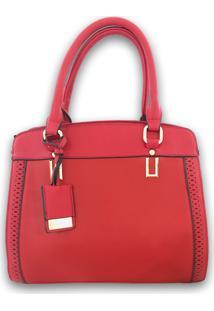 Bolsa Importada Casual Sys Fashion 2736 Vermelho