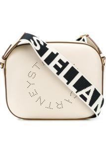 Stella Mccartney Bolsa Transversal 'Stella Logo' - Branco
