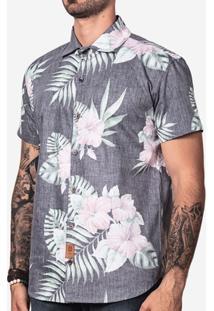 Camisa Hermoso Compadre Tropical Avesso Masculina - Masculino