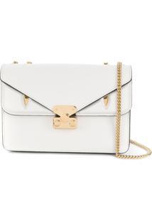 Fendi Bolsa Tiracolo Bag Bugs - Branco
