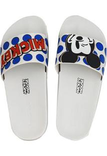 Sandalia Fem Inj Zaxy Pop Mickey Slide 65169056