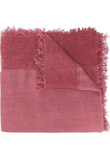 Faliero Sarti Echarpe Com Textura - Rosa