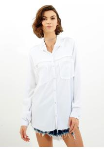 Camisa John John San Mateo Branco Feminina (Branco, P)