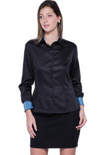 Camisa Embassy Basic Slim Ii Preta