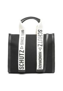 Bolsa Schutz Shopper Bag Lona Preto - S5001002310006