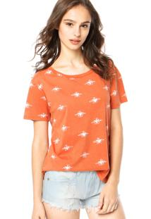 Blusa Billabong Grit And Glory Laranja