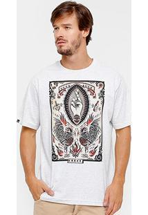 Camiseta Okdok Tattoo Estampada Masculina - Masculino