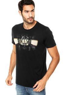 Camiseta Fashion Comics Regular Coringa Preta