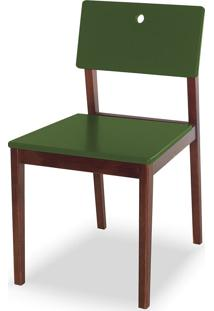 Cadeira Flip 81 Cm 921 Cacau/Verde Musgo - Maxima