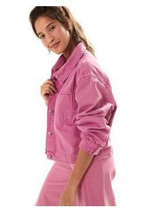 Jaqueta Sarja Color