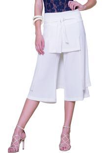 Calça Garnús Concept Off White