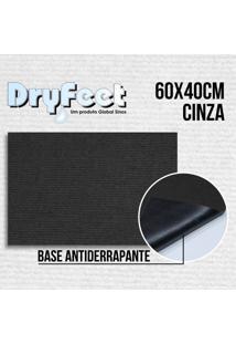 Tapete Dryfeet Cinza 60X40Cm