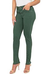 Calça Jeans Bloom Thiffany Skinny Floresta Feminina - Feminino