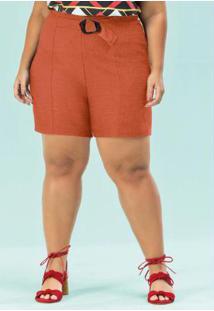 Shorts Ferrugem