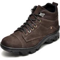 cbab530df7 Bota Coturno Adventure Masculino Top Franca Shoes Cafe