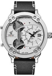 Relógio Weide Analógico Uv-1506 Branco