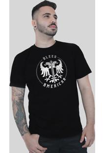 Camiseta Bleed American Sword Of Wisdom Preta