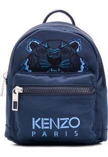 Kenzo Michila Tiger De Cetim - Azul